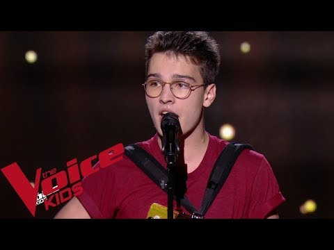 Jacques Brel - Ces Gens-là | Pierre | The Voice Kids France 2019 | Blind Audition