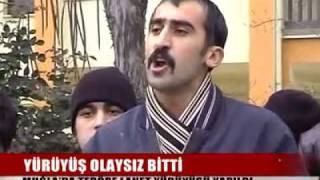 Muğla'da PKK ya Lanet Mitingi...