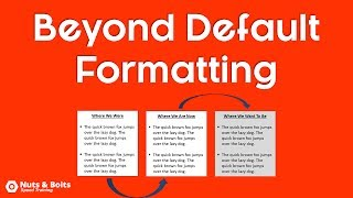 PowerPoint Formatting Rule (Important!)