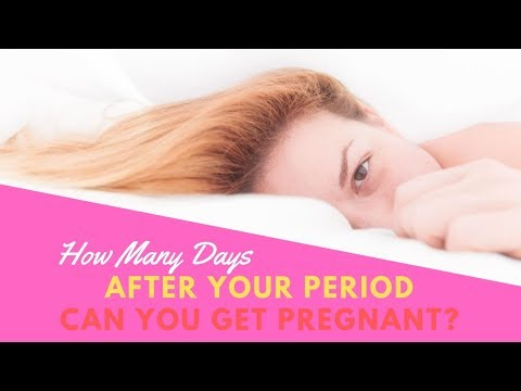 How Many Days After Your Period Can You Get Pregnant? How to Get Pregnant After Period