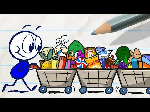 Pencilmates Shopping Trip