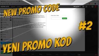 📣ROBLOX NEW PROMO CODE #2📣/📣ROBLOX YENI PROMO KOD #2📣/Muhammet GF