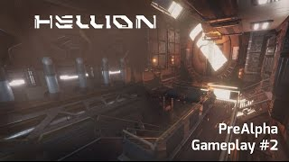Hellion Pre-Alpha Gameplay Video #2 - Mining and Base Building