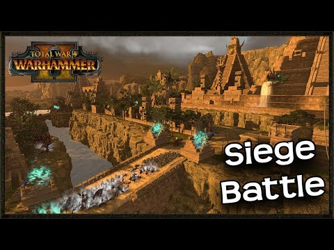 Knightly Orders Custom Map Siege - Total War Warhammer 2 Mod Gameplay