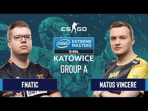 VOD: NaVi vs Fnatic - IEM Season XIV - Map 2