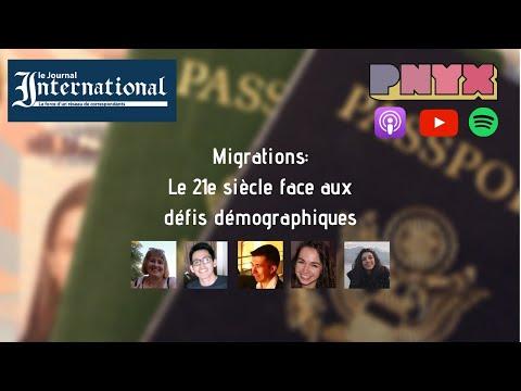 PNYX - Migrations : Le XXIe Siècle Face Aux Défis Démographiques