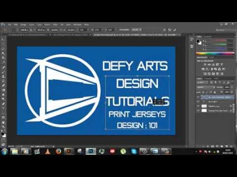 4ceae4ff8d2 How to design Jerseys- PRINT Template (Free Download Included) - YouTube