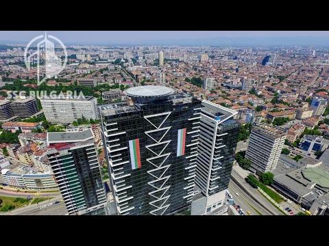 Millennium Center skyscraper 121m / 32 fl, Sofia, Bulgaria 1.6.2017