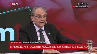 13-09-2018 - Carlos Heller en C5N - M1, con Gustavo Sylvestre – ¿Dolarización? No creo