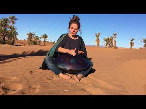 Camel Ride - Handpan Improvisation in the Sahara