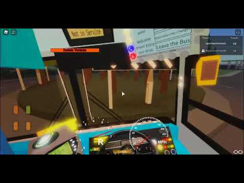 A Drive Round Clawford On The Bus [Featuring MightyzackplaysRB] Part 1