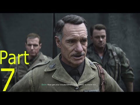 CALL OF DUTY WW2 Walkthrough Gameplay Part 7: DEATH FACTORY (Campaign)