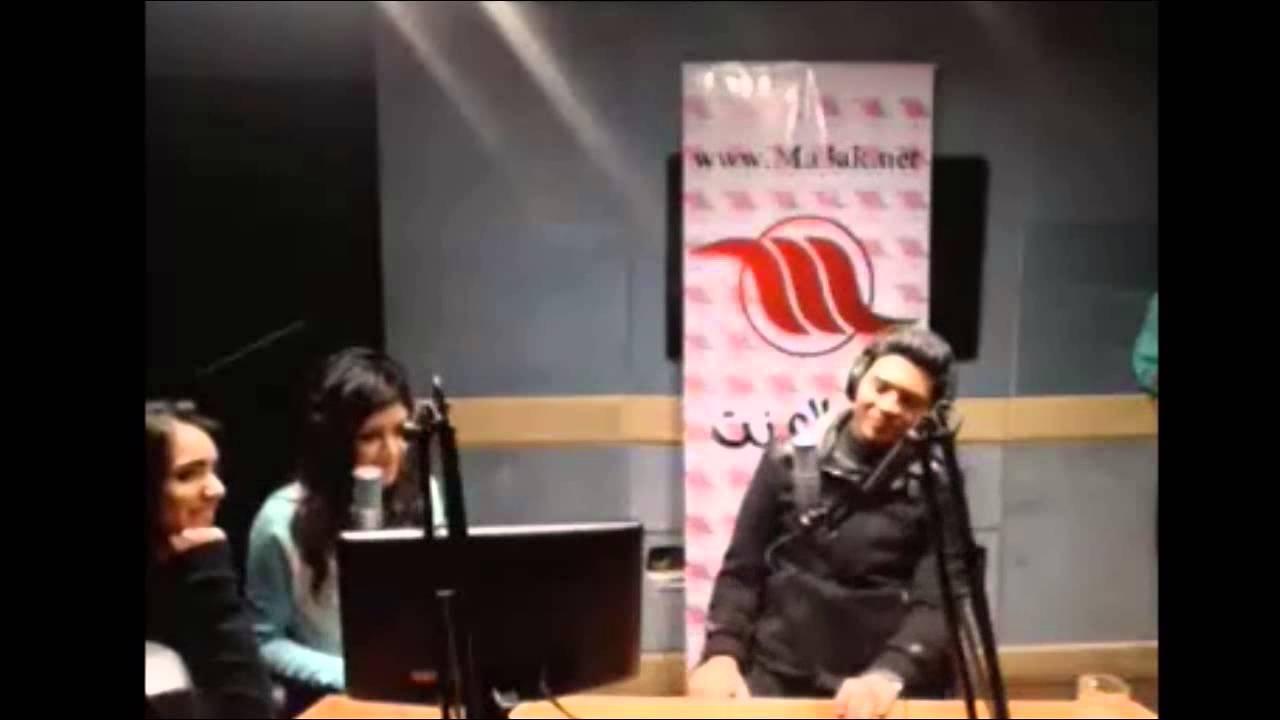 محمد شاهين يهدي اغنية للجزائريين في برنامج اذاعي