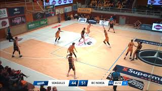 Seagulls vs BC Nokia Näädät Highlights 16 4 2019
