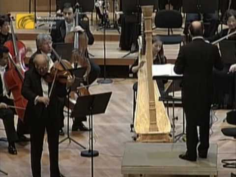 Gyorgy Pauk - Bartok - Second Violin Concerto Part One
