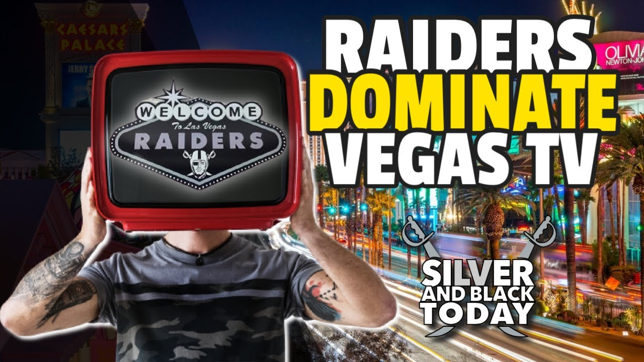 Las Vegas Raiders Set to Dominate Local Las Vegas TV with Exclusive Content Deals