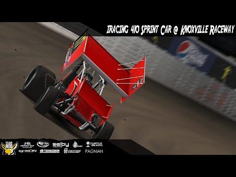 iRacing - 410 Sprint Car @ Knoxville Raceway