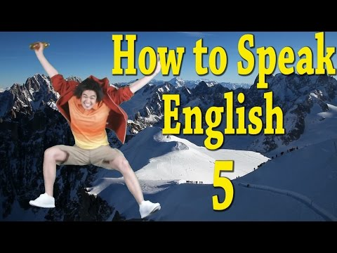 How to speak better at English?