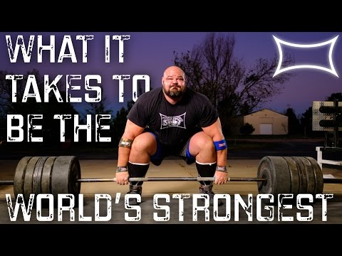 WORLD'S STRONGEST MAN BRIAN SHAW — What It Takes To Be #1