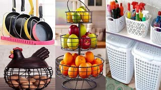 Space Saving Kitchen Organisers/ Amazon kitchen products/Racks/pantry/ Baskets