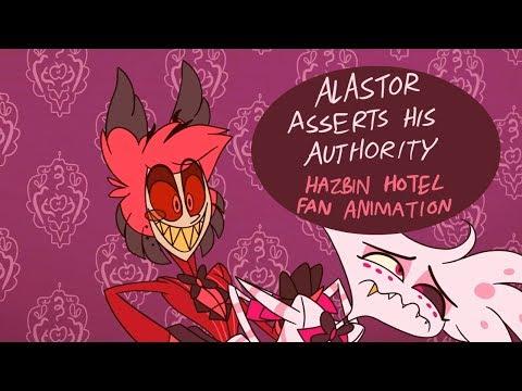 Alastor Asserts His Authority - Hazbin Hotel Fan Animation