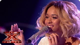 Tamera Foster sings The First Time Ever I Saw Your Face - Live Week 8 - The X Factor 2013