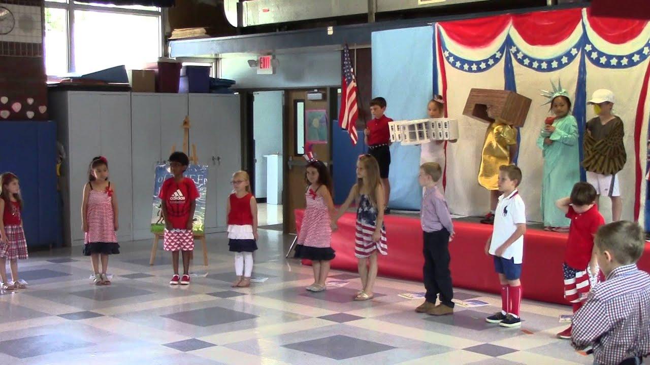 American Symbols 1st Grade Play Youtube