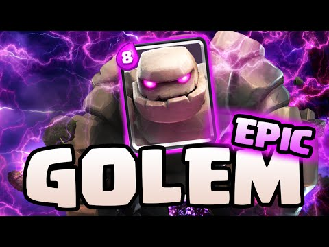 Clash Royale GLOBAL! ♦ GOLEM Strategy THREE Crown Wins! ♦