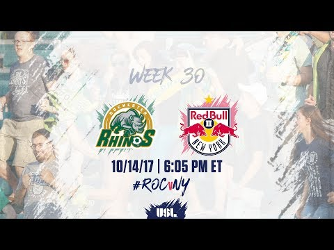 USL LIVE - Rochester Rhinos vs New York Red Bulls II 10/14/17