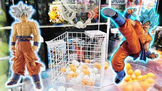 He is SO EXCITED for these Dragon Ball figures!