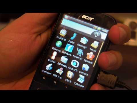 Acer beTouch E110 Review HD ( in Romana ) - www.TelefonulTau.eu -