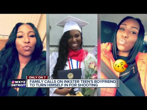 Family calls on Inkster teen's boyfriend to turn himself in for shooting