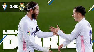 Join us on a trip to vitoria where real madrid managed secure hard-fought victory tough away match against eibar at ipurúa. karim benzema opened the s...