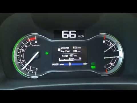 Honda Pilot 2016 EX-L gas mileage