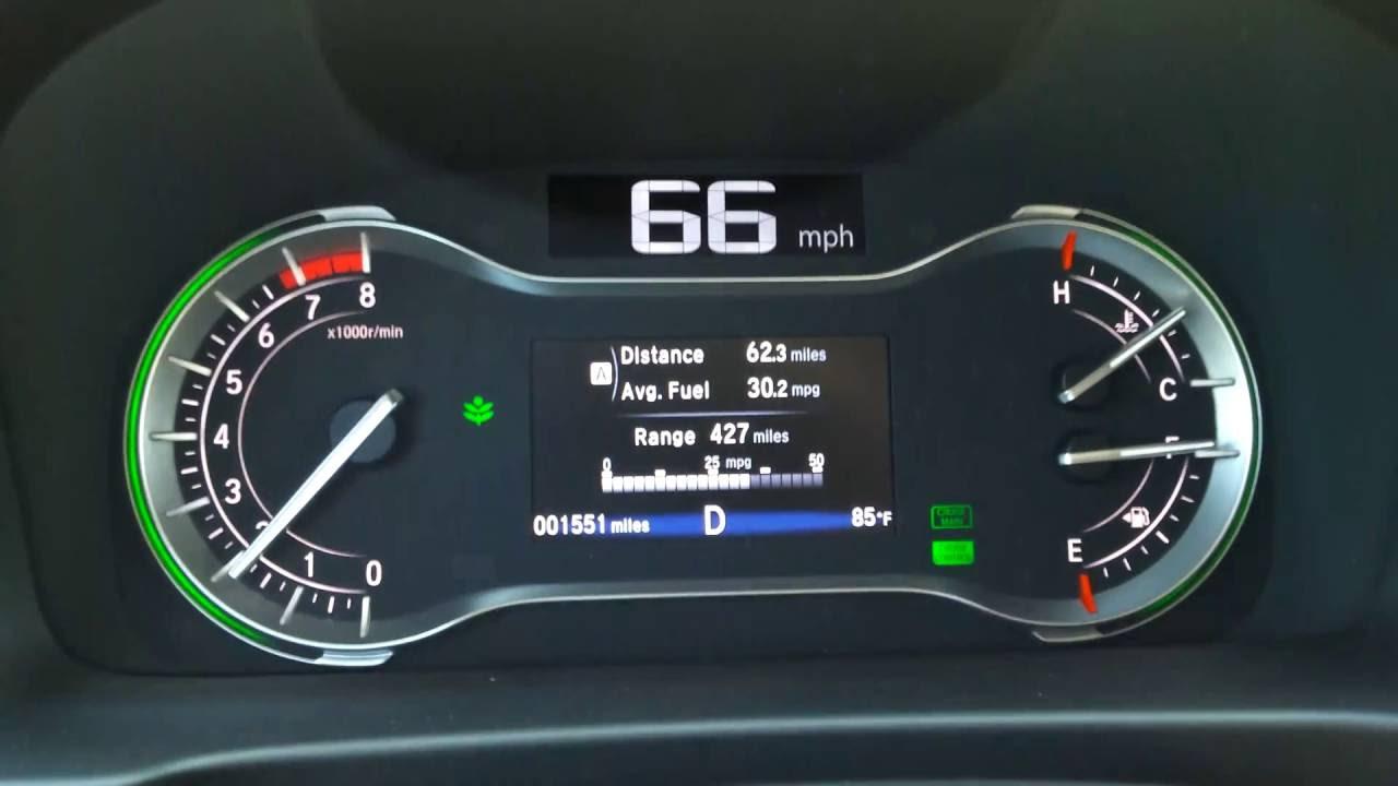 Honda Pilot 2016 EX L Gas Mileage