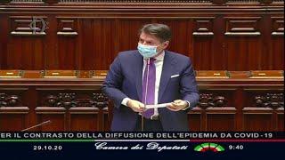Coronavirus, Conte: