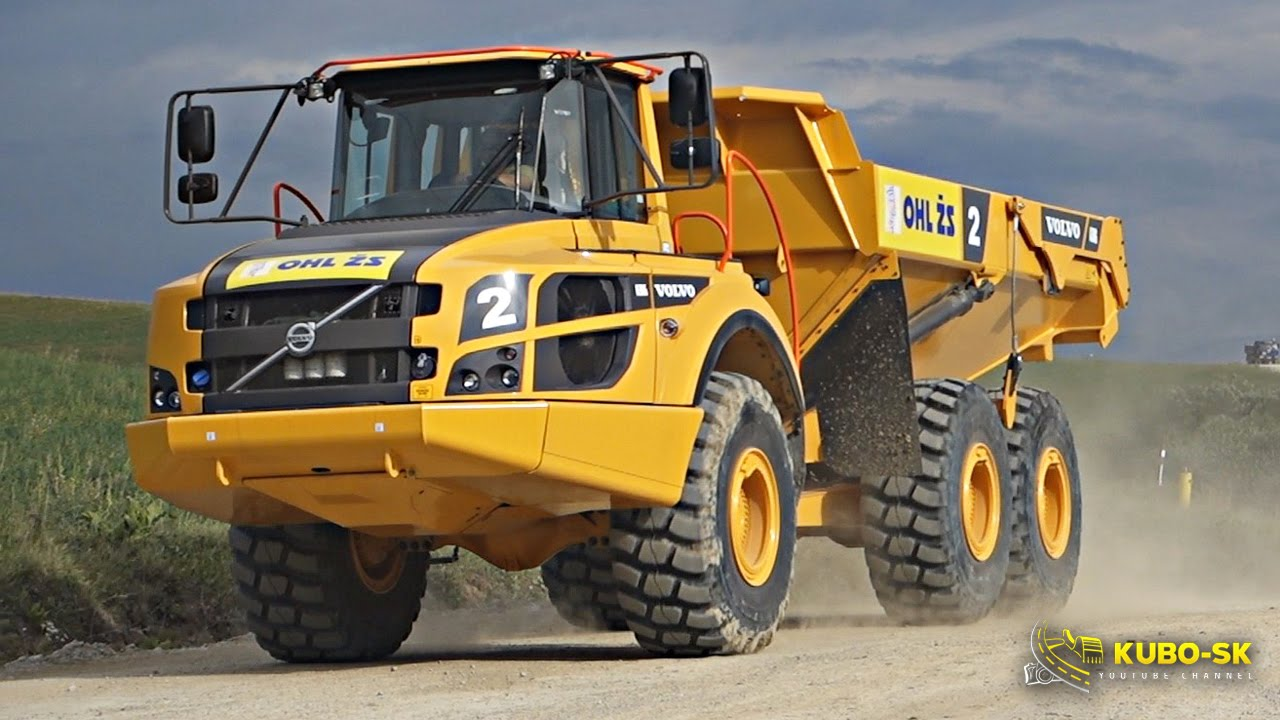 KUBO-SK YOUTUBE CHANNEL heavy trucks and construction ...