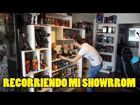 Recorriendo todo el Showroom de Coleccionables