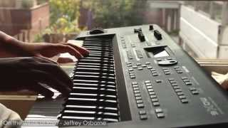 Jeffrey Osborne - On the wings of love done by Luv4musiQ [Piano Instrumental Cover]