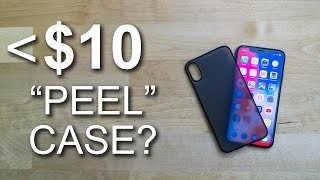 TOZO ultra-thin case for iPhone X - REVIEW