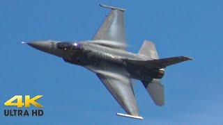 F-16 Fighting Falcon Demo 2020 Laredo Air Show