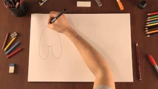 Cómo dibujar letras con forma de burbujas