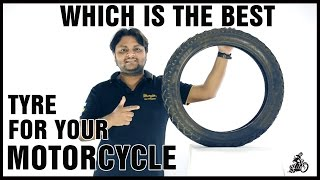 Which is the best tyre for your motorcycle | Ceat | Mrf | Michelin | Tyre Guide |