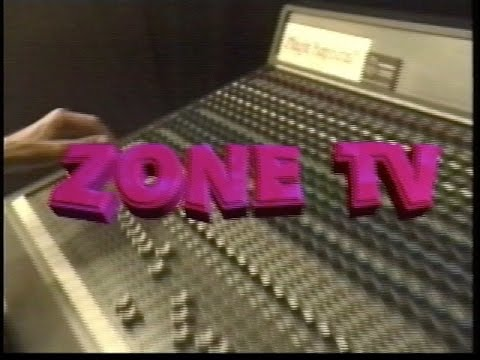 Zone TV show 2 / Broadcast Date - 8/30/96
