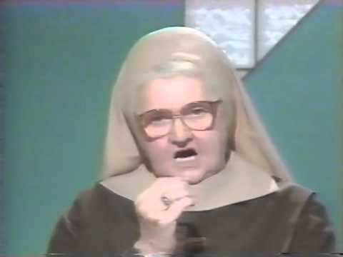 Mother Angelica Stands up for the Catholic Faith - World Youth Day 1993 (Denver)