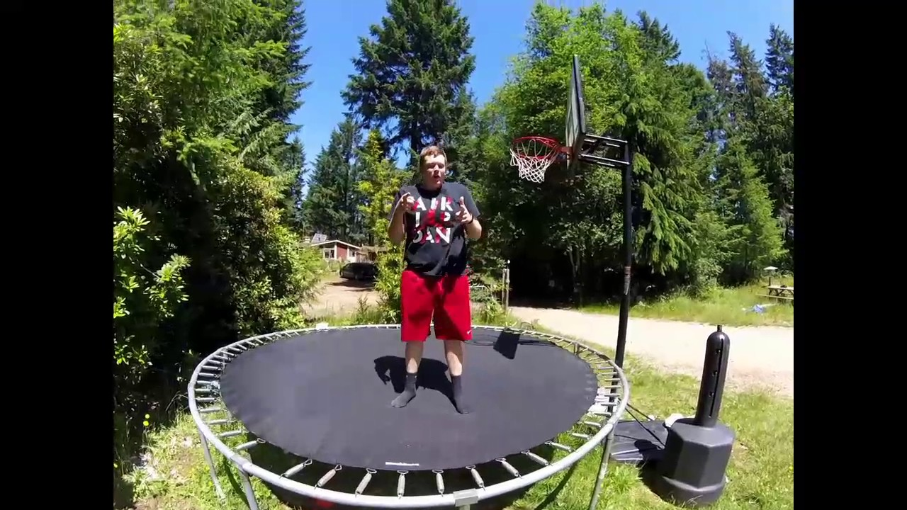 How to do a Backflip on a Trampoline for beginners
