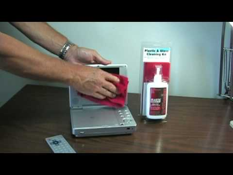 How To Clean A Portable DVD Player With Brillianize