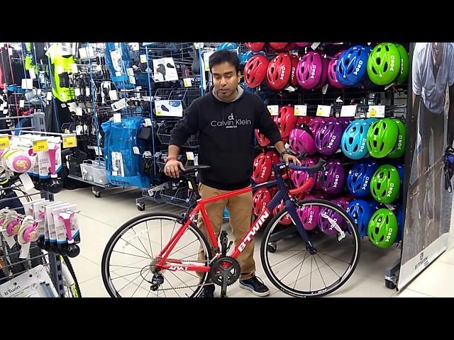 triban rc 520 disc road bike review
