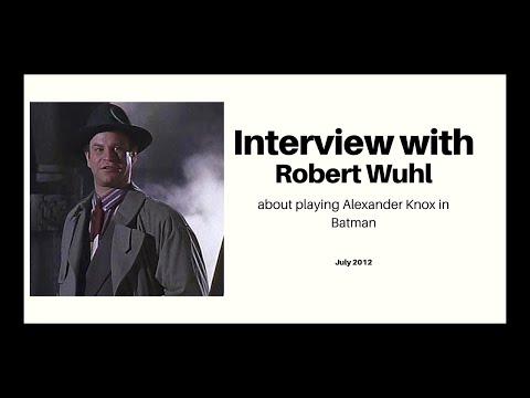 Robert Wuhl interview: Batman