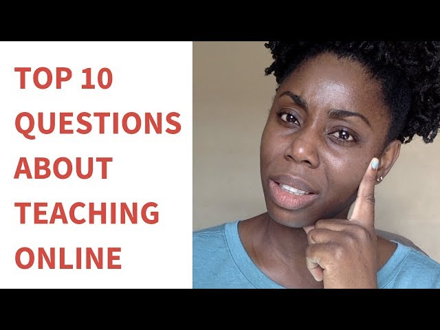 10 Common Questions About Teaching English Online